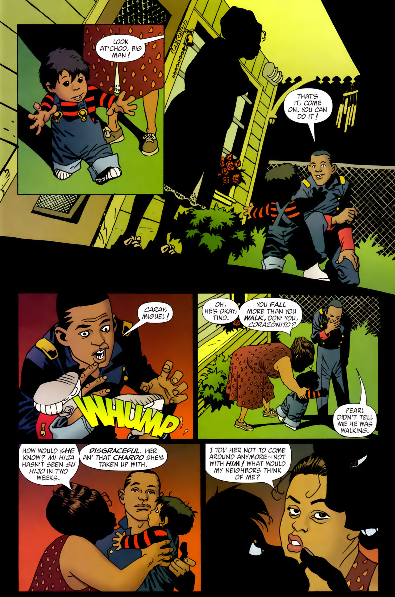Read online 100 Bullets comic -  Issue #61 - 2