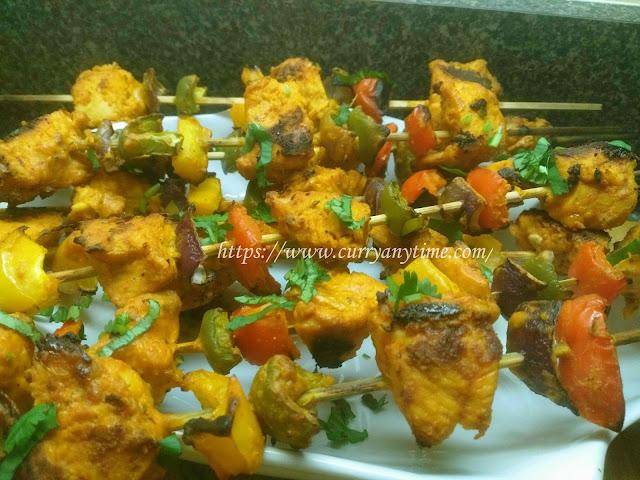 Chicken Tikka (Oven roasted)
