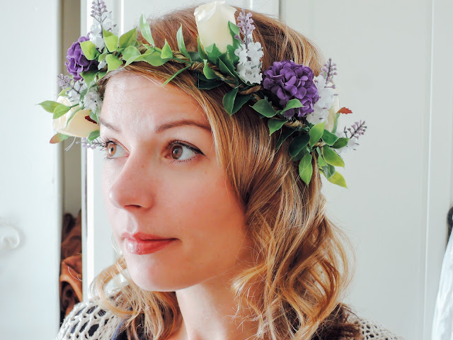 How to make a flower crown + for weddings, festivals and flowers girls