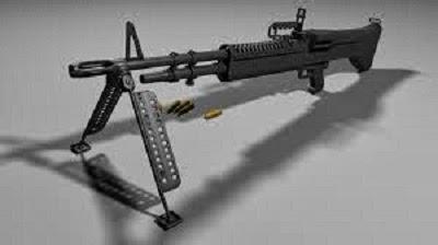 M60 M60E3 M60E4 machine gun (USA) | NIT Park