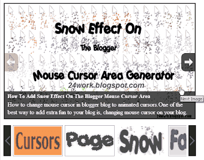 Excellent Content SlideShow+Slider to Blogger / WebSite