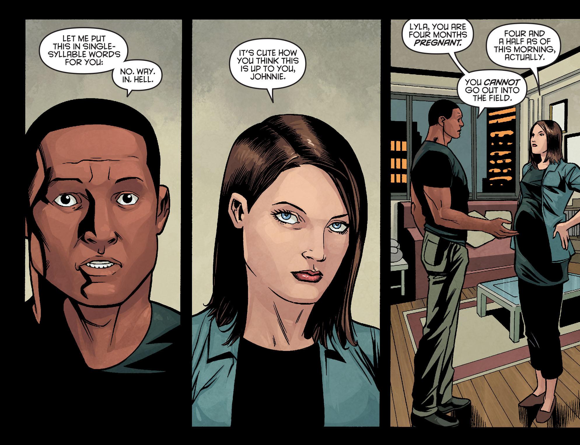 Read online Arrow: Season 2.5 [I] comic -  Issue #10 - 9