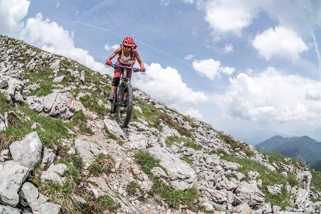 schwerer trail gipfel oisternig mtb mountainbike