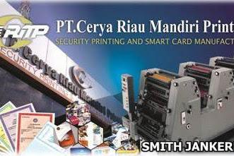 Lowongan Kerja Pekanbaru : PT. Cerya Riau Mandiri Printing Oktober 2017