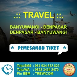 Travel Murah dari Denpasar, Bali ke Banyuwangi (PP)