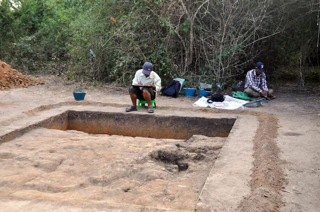 New Finds at ancient Cambodian capital of Longvek