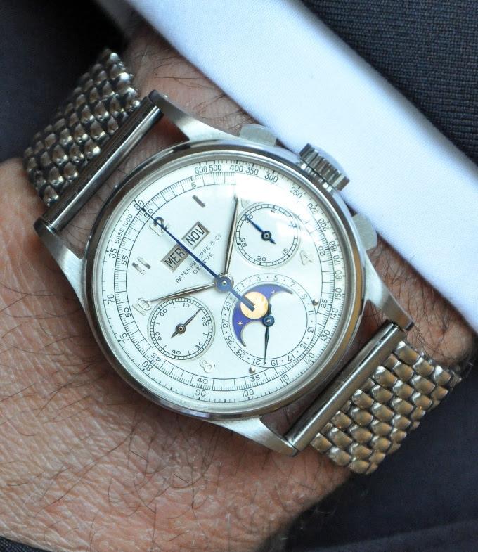 abc86fa153c Estação Cronográfica  Relógio Patek Philippe calendário perpétuo ...