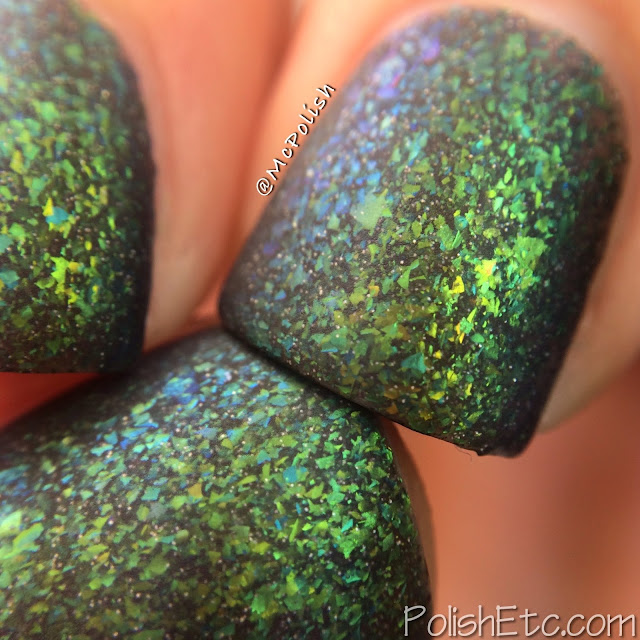 Lavish Polish - Milky Way - Limited Edition - McPolish - MATTE MACRO