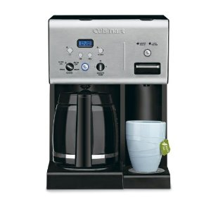 CHW 12 Coffee Plus Cuisinart Programmable Coffeemaker with Hot Water System