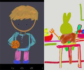 Kids Doodle - Aplikasi Mewarnai Android