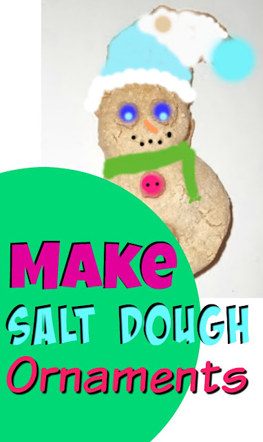 How to Make Salt Dough Recipe Christmas Ornaments Decorations