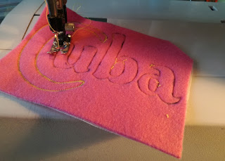 Felt Embroidery Cuba Flap Bag Craftrebella