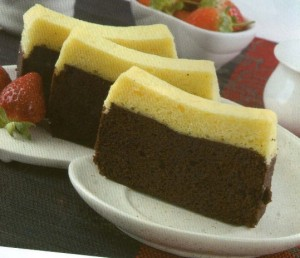 Resepi membuat Kek Coklat Keju