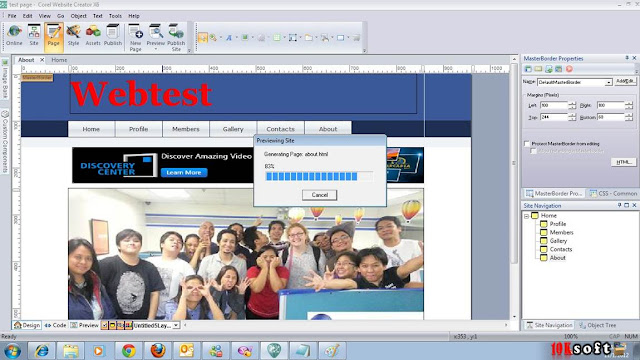 Corel Website Creator 15 Latest Version Free Download