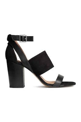 H&M sandały skórzane kolekcja Premium najmodniejsze buty 2016 wyprzedaż blog modowy