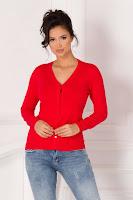 puloverul cu nasturi pentru o tinuta casual calduroasa