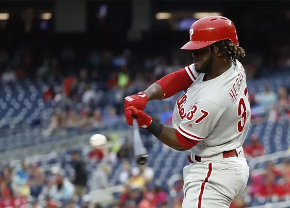 Odubel Herrera stays hot for Philadelphia