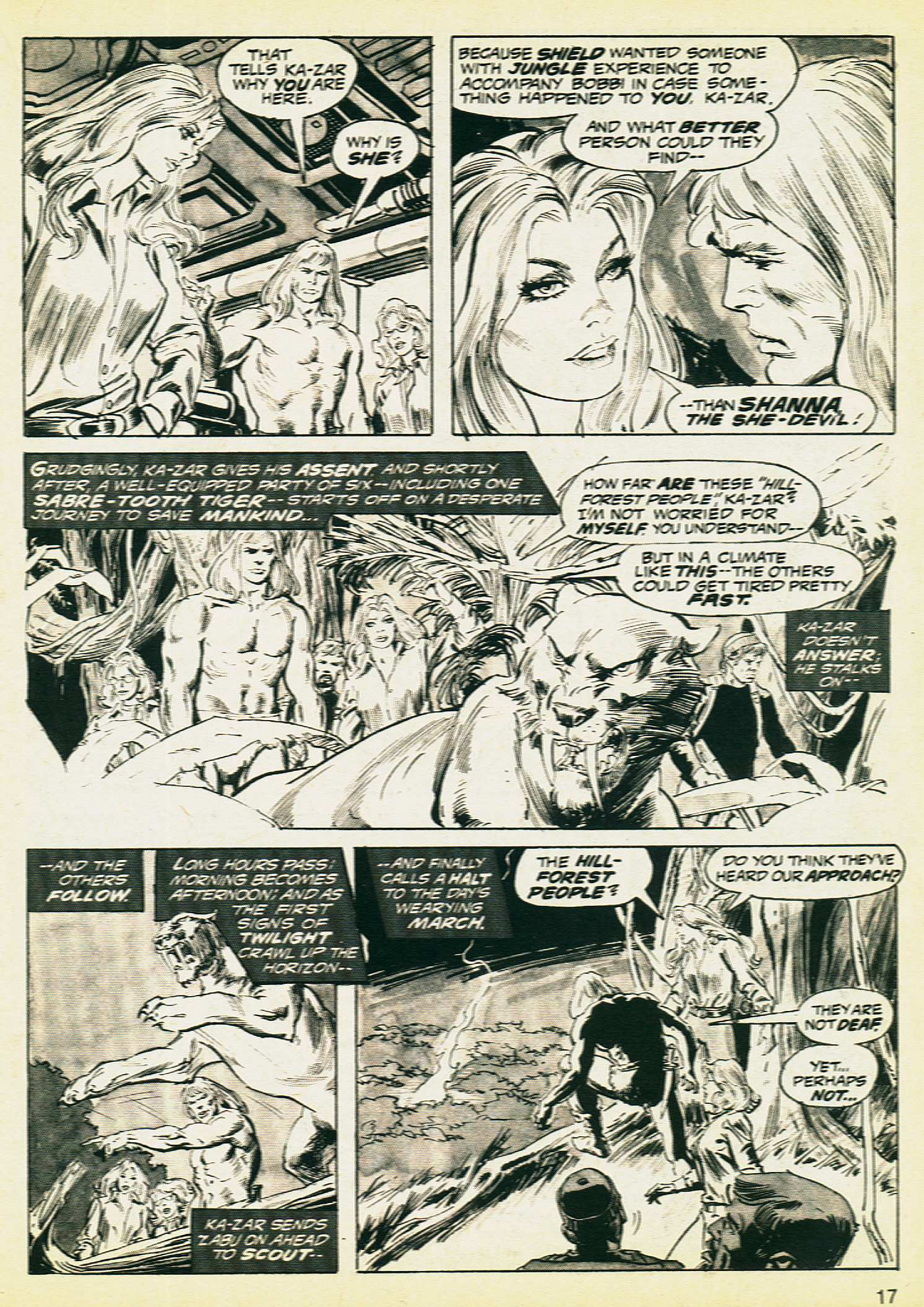 Savage Tales issue 8 - Page 15
