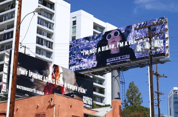 Assassination Nation movie billboards
