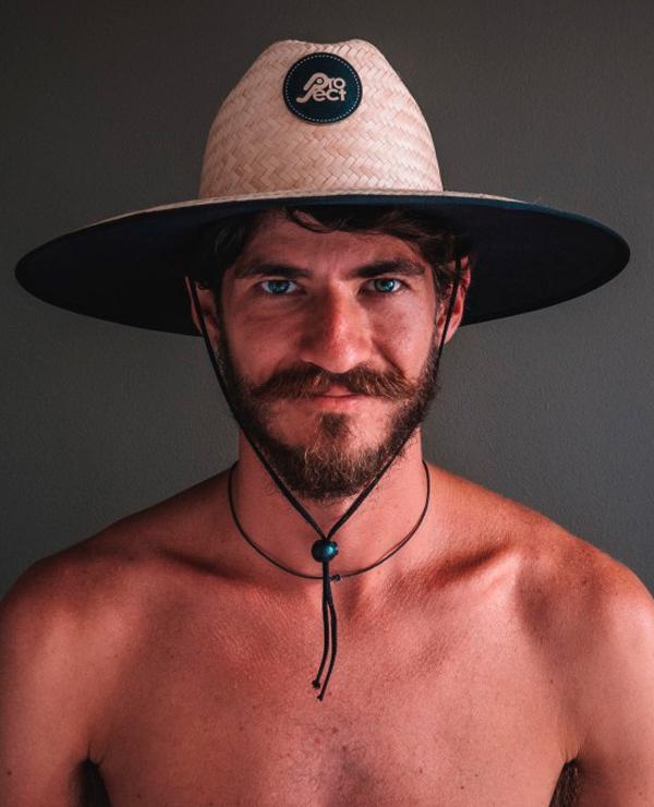 chapeu de palha surf