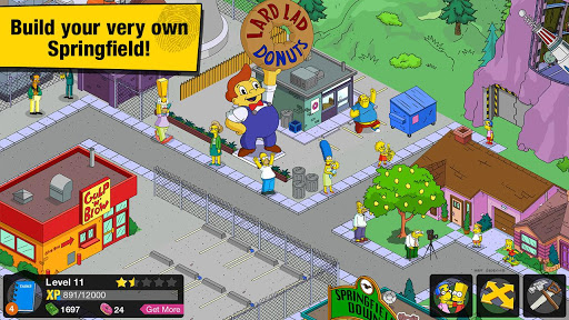 The Simpsons™: Tapped Out Mod Unlocked v4.2.4 APK