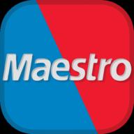 maestro social button