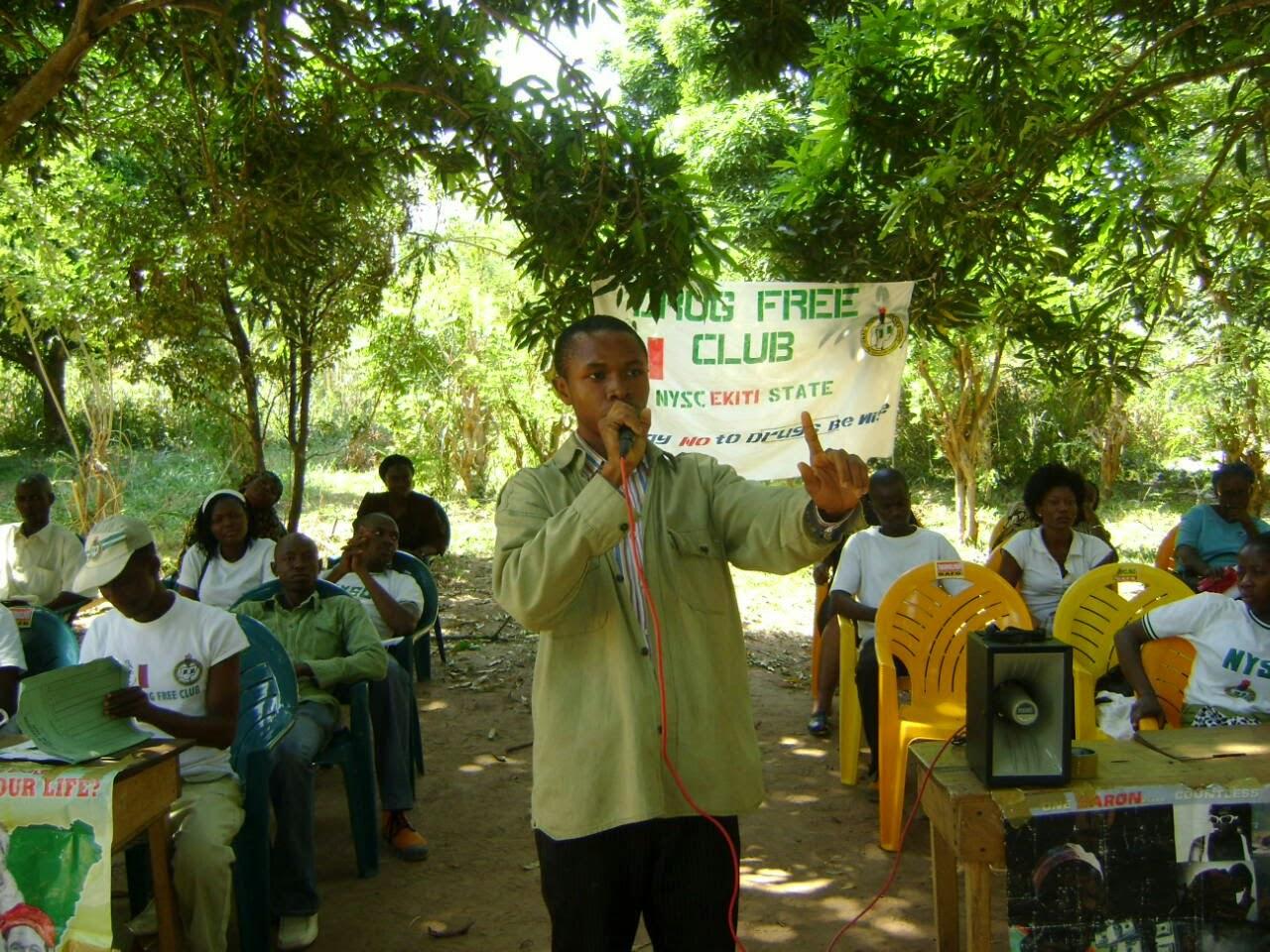 Nigerian youth corps members