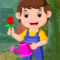 Play Games4king Gardener Rescu…