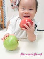 茉莉玩蘋果