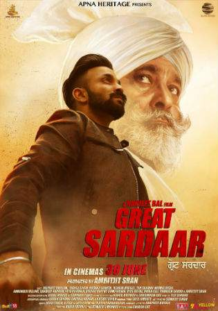 The Great Sardaar 2017 CAMRip 700MB Punjabi Movie Watch Online Full Movie download Worldfree4u
