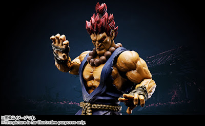 "S.H.Figuarts Akuma / Gouki de ""Street Fighter"" - Tamashii Nations"