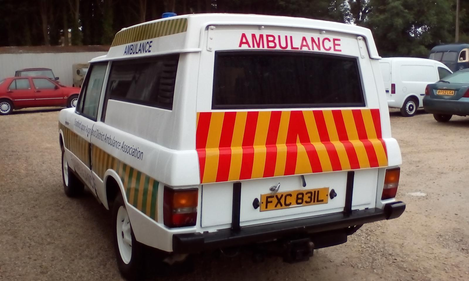 Land Rover Katy Ambulances 1957 S1 Wiring Diagram Themselves For Approximately Seven Months Although Unregistered Until 1997 It Was Subsequently Purchased By Stratford Upon Avon St Johns