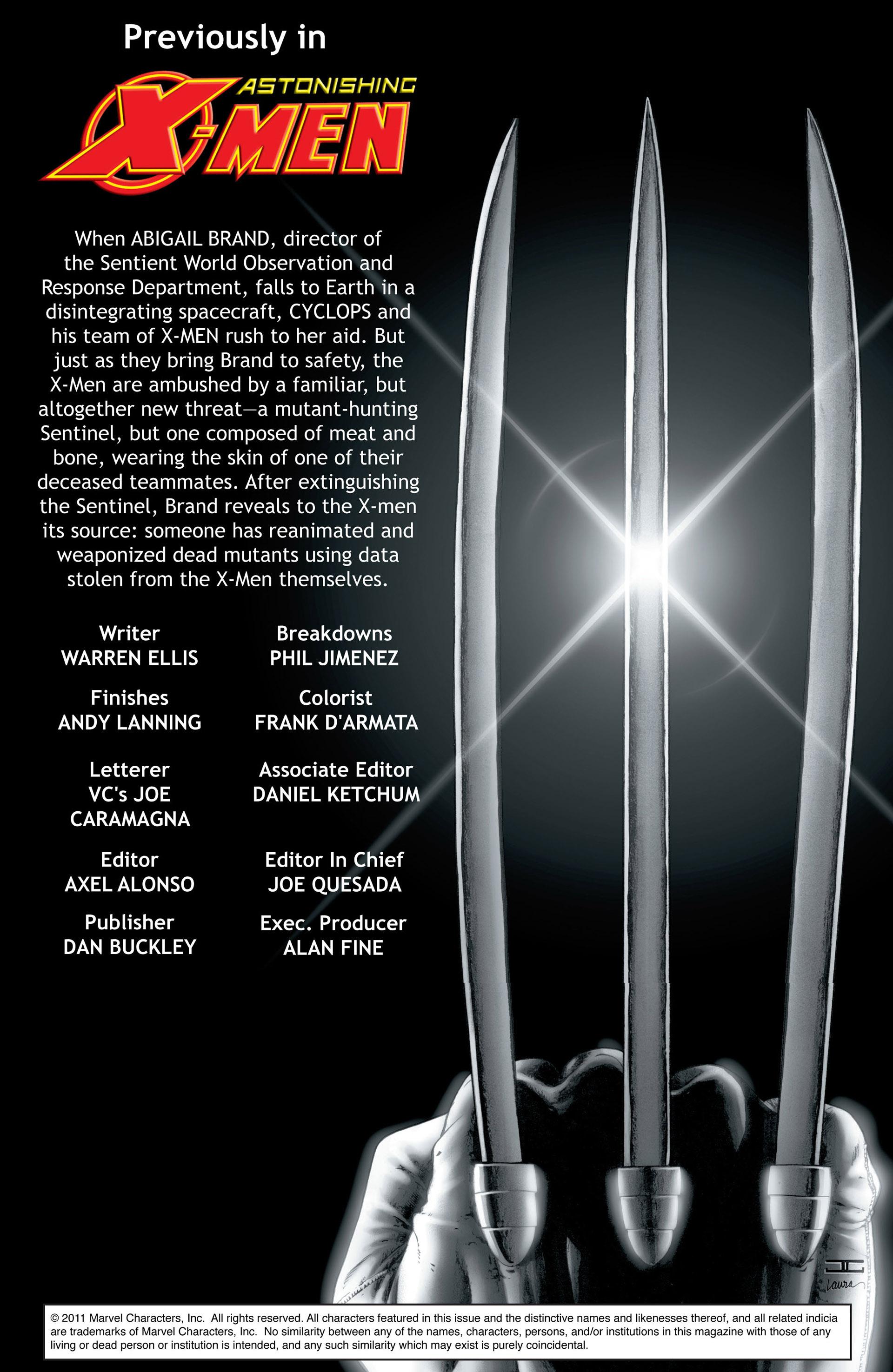 Read online Astonishing X-Men (2004) comic -  Issue #33 - 2