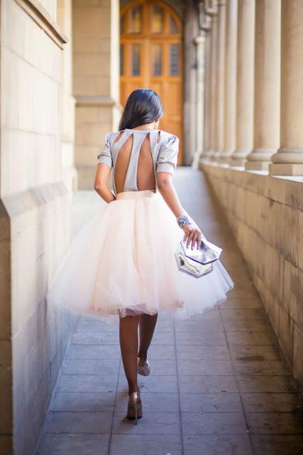 falda de tul para boda