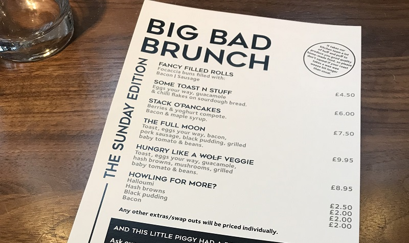 Siberia Big Bad Brunch Aberdeen