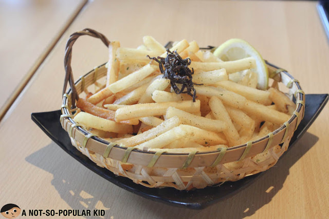 French fries curry of Kenshin Japanese Izakaya