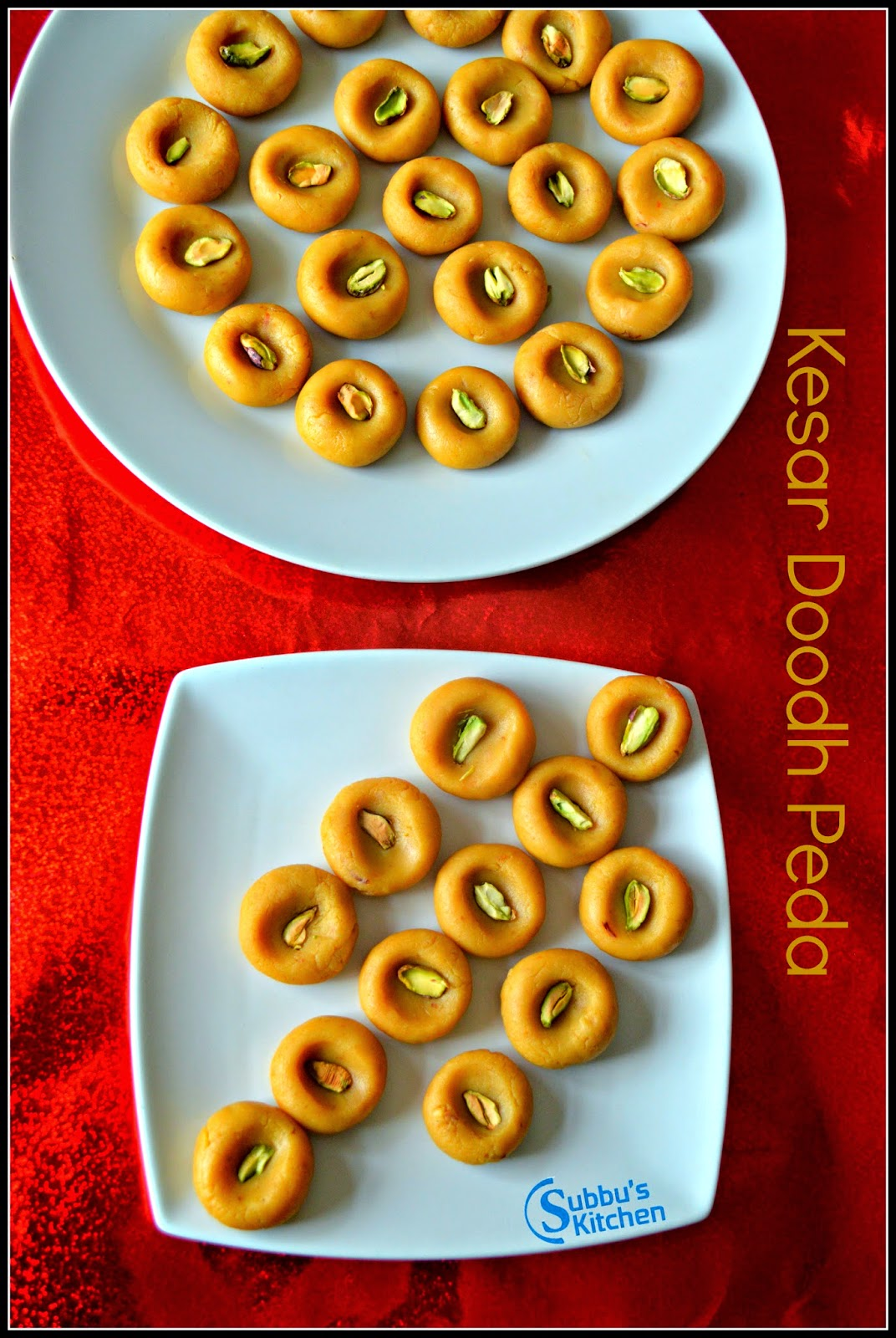 Kesar Doodh Peda Recipe | Instant Milk Peda Recipe | Instant Milk Sweet Recipe