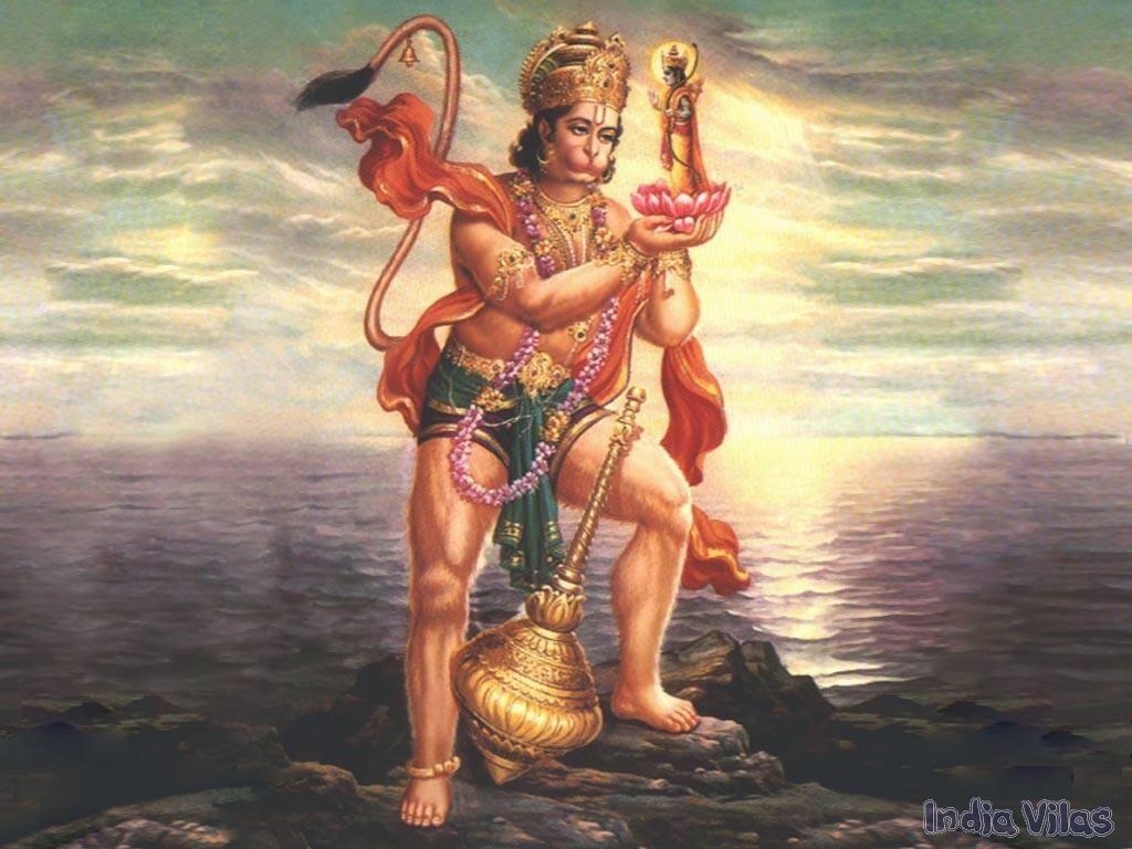 Hanuman Satyabhama Garuda Sudarshan chakra Story