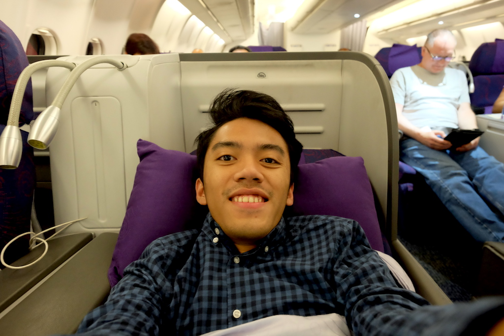 Air China A330 Business Class Seat - CA872 Kuala Lumpur to Beijing