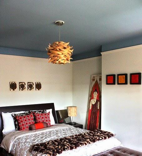 unik home staging illusion d 39 optique jouer avec le plafond. Black Bedroom Furniture Sets. Home Design Ideas