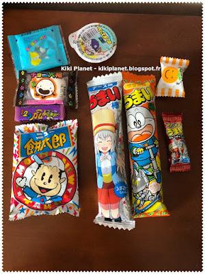 kiki, monchhichi, mcc, bonbons japonais, snacks japonais, asiatique