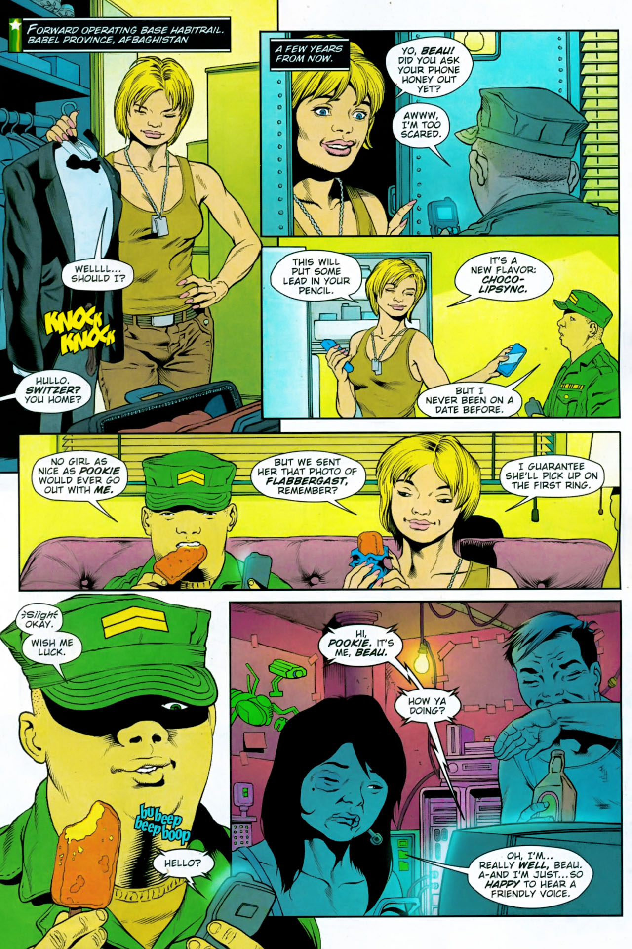 Read online Army @ Love comic -  Issue #11 - 2