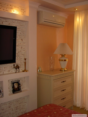 Фото сплит-система panasonic в спальне