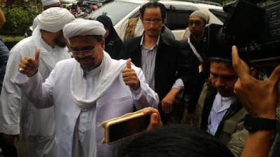 Habib Rizieq: Saya Tak Bawa Dendam Pribadi pada Siapapun