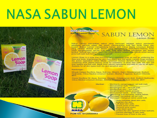 Sabun Lemon Nasa Terbaru