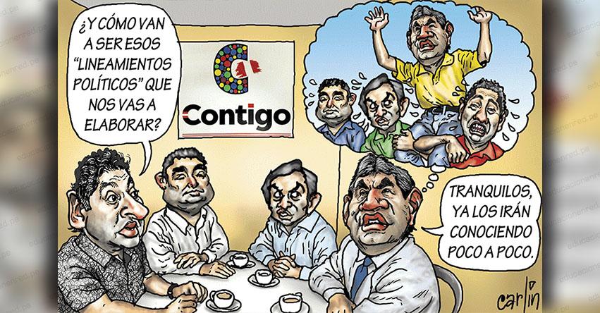 Carlincaturas Viernes 8 Marzo 2019 - La República