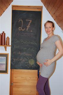 Bauchbild 27. Schwangerschaftswoche