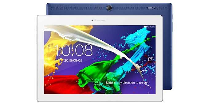 Lenovo Tab 2 A10 officially announced