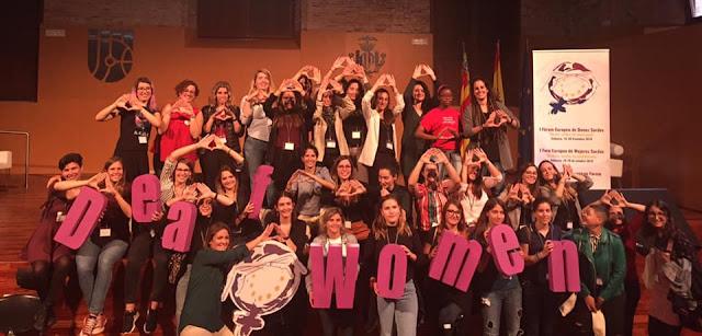 I Deaf Women European Forum