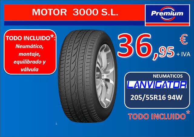 Neumáticos LANVIGATOR 205/755 R16  94W